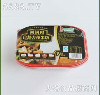 得益绿色回锅肉自热方便米饭