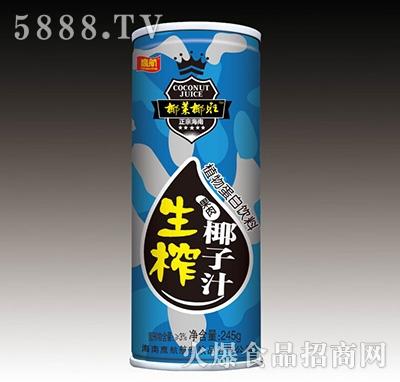 鹰航生榨椰子汁245g