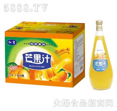 红鹭芒果汁1.5Lx6