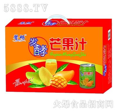 馨畅发酵芒果汁饮料240mlX16