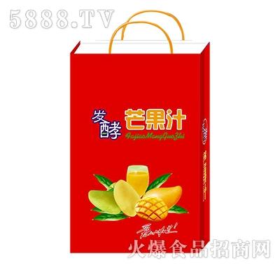 馨畅发酵芒果汁饮料手提礼盒