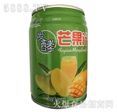馨畅发酵芒果汁饮料240ml