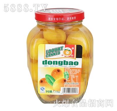 冬宝糖水枇杷罐头1.1kg