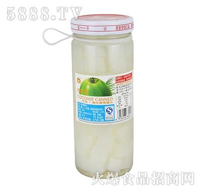 冬宝糖水椰果罐头450g杯装