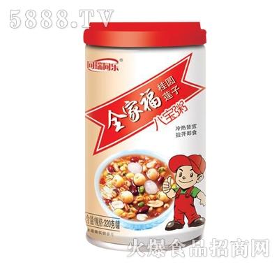 同瑞同乐全家福桂圆莲子八宝粥320g罐