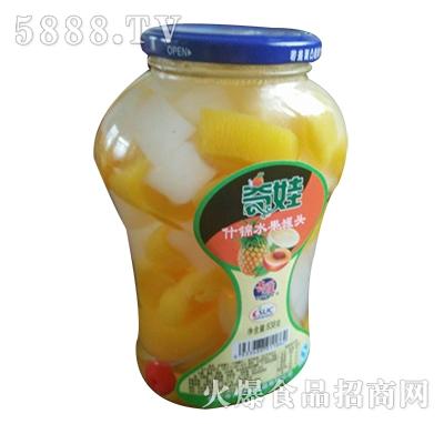 奇娃什锦水果罐头838g