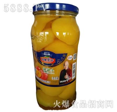 水果王子桃罐头1018g