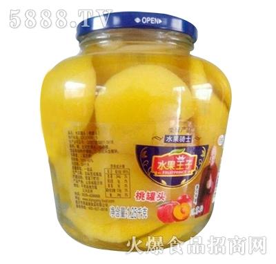 水果王子桃罐头1250g