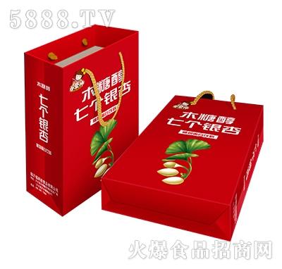 240ml小爱神七个银杏植物蛋白饮料手提袋