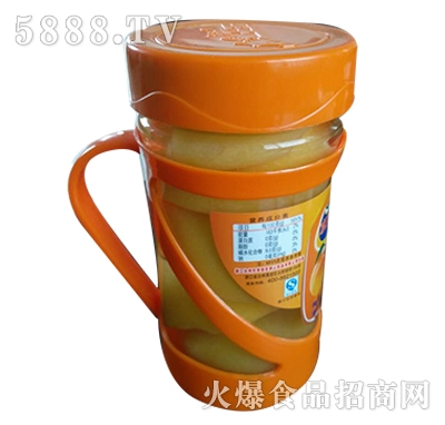 水果王子糖水罐头瓶510g
