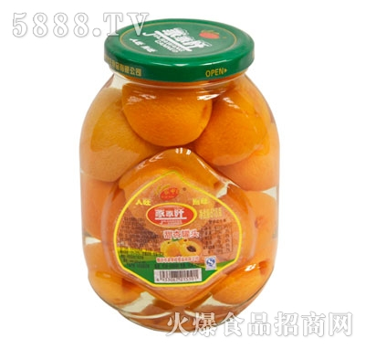 家家旺甜杏罐头518克