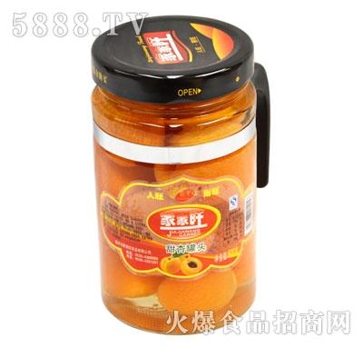 家家旺甜杏罐头600克