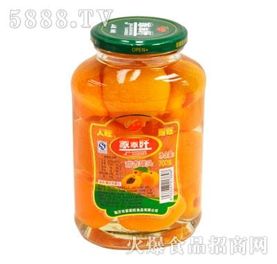 家家旺甜杏罐头700克
