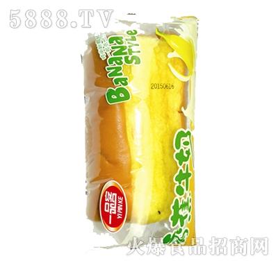 奇香香蕉牛奶面包