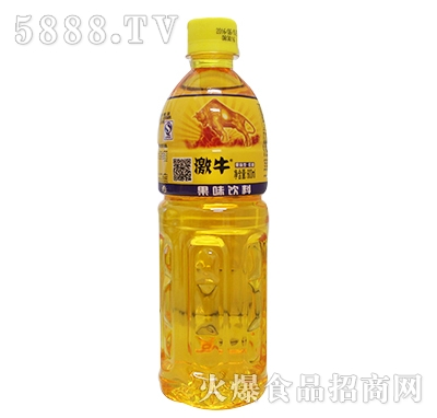 600ml激牛果味饮料