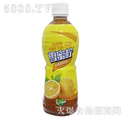 500ml雪蜜柠柠檬茶饮料产品图