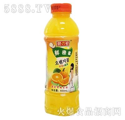 600ml健密鲜橙蜜果粒果味饮料