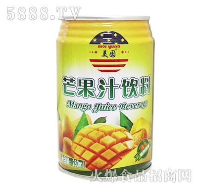 280ml美园芒果汁饮料