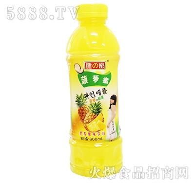 600ml健密菠萝蜜果粒果味饮料