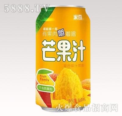 芒果汁复合果汁饮料310ml