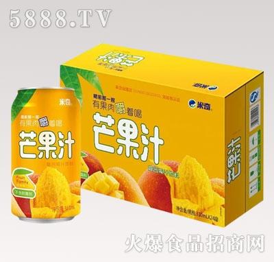 芒果汁复合果汁饮料310ml×24罐