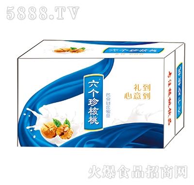 250ml六个珍核桃复合蛋白饮品箱装