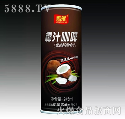 鹰航椰汁咖啡245ml