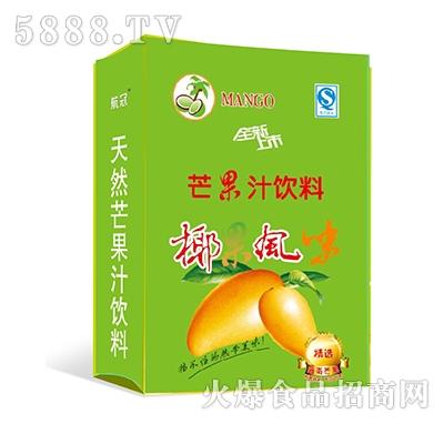 椰果风味芒果汁饮料手提袋