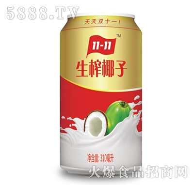 310ml隐雪生榨椰子汁