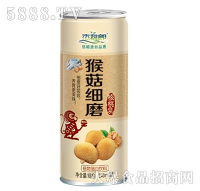 杰格郎原浆细磨核桃乳植物蛋白饮料240ml
