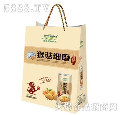 杰格郎猴菇细磨核桃乳礼盒