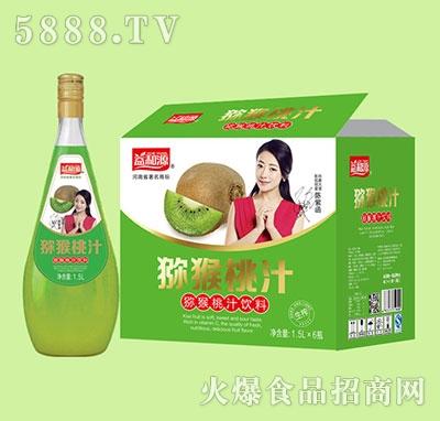 益和源猕猴桃汁1.5lx6瓶