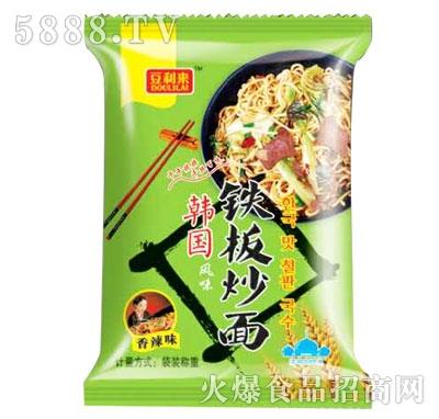 豆利来韩国风味铁板炒面香辣味散称