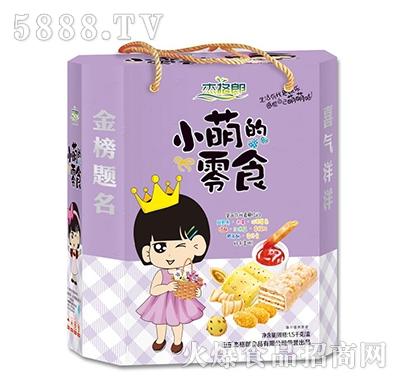 杰格郎小萌的零食1.5kg(紫)