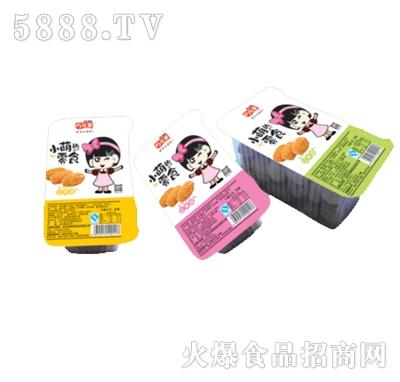 小萌的零食江米豆托盒装
