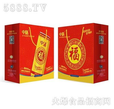 中膳复合蛋白含纤饮品(金罐)礼盒装