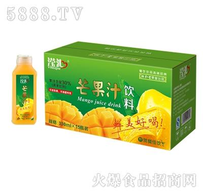 滢沁芒果汁饮料330mlx15瓶装