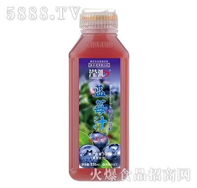 滢沁蓝莓汁饮料330ml