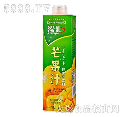 滢沁芒果汁饮料1L