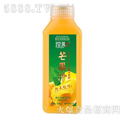 滢沁芒果汁饮料330ml