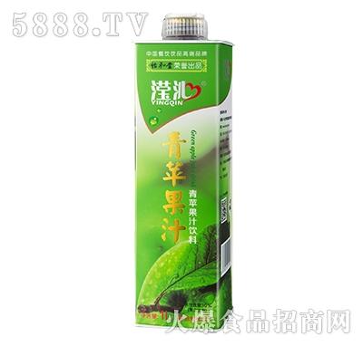 滢沁青苹果汁饮料1L