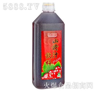 怡和堂山楂汁饮料1.25L