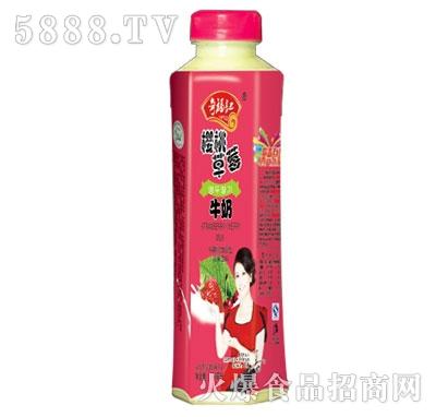 奇福记樱桃草莓牛奶牛磺酸加强型乳味饮料500ml