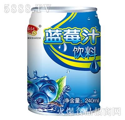 奇福记蓝莓汁饮料240ml