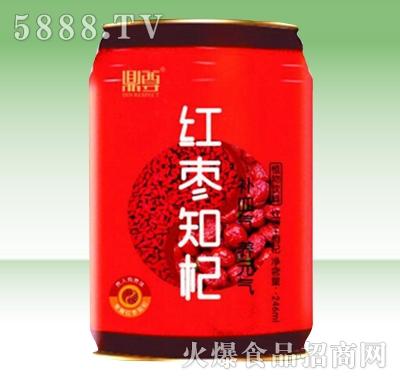 鼎尊红枣知杞植物饮料罐