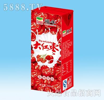 福牛大红枣苗条内盒