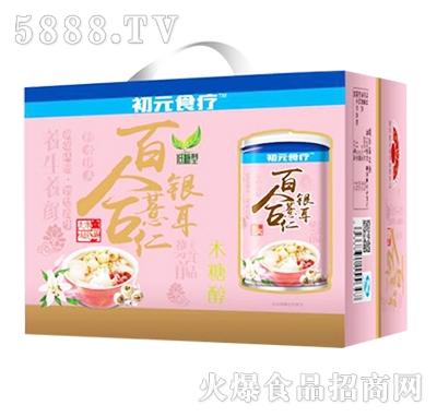 初元食疗百合薏仁银耳粥礼盒