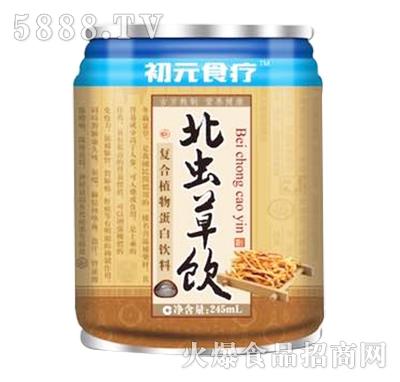 初元食疗北虫草饮复合植物蛋白饮料245ml