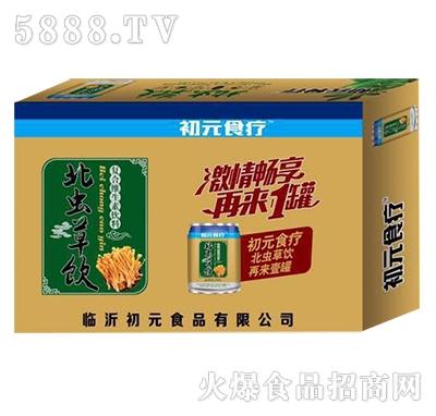 初元食疗北虫草饮复合维生素饮料箱装