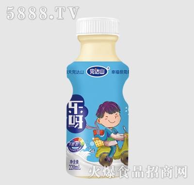 完达山乐呀乳酸菌饮品草莓味220ml(男孩)